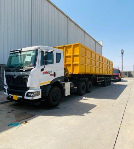 Transport and smart trucking inner